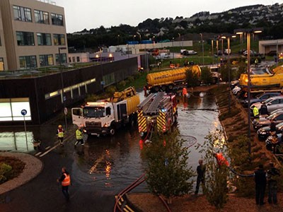 Letterkenny General Hospital Affected Floods Second Time