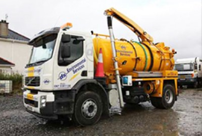 High Pressure Water Jetting Services in Donegal